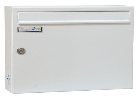 Poštovní schránka DOLS A-01 bílá
