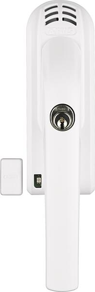 Uzamykatelná okenní klika ABUS FG 300 A s alarmem bílá (na levou stranu)