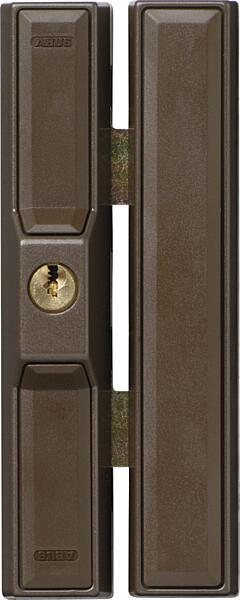 ABUS FTS 88 přídavný zámek na okno, hnědý