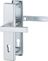 Bezpečnostní kování HOPPE DALLAS F9 klika/klika s překrytem, 92/8, 67-72mm (obj.č.3767274)